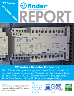 Technical information on releco relays 22 series modular contactors publicscrutiny Images