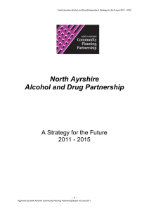 North Ayrshire ADP Delivery Plan 2012
