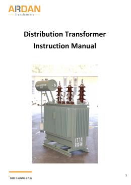 Ge transformer manual