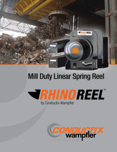RHINOREEL Mill Duty Reel Trifold