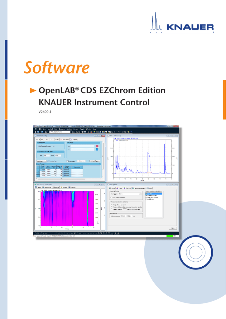 Open LAB Instrument-Control Software Manual