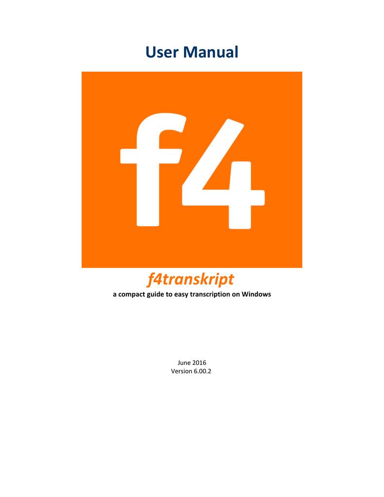 f4transkript