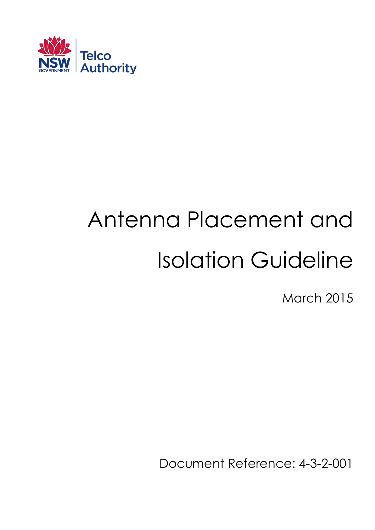 Antenna Placement and Isolation Guideline