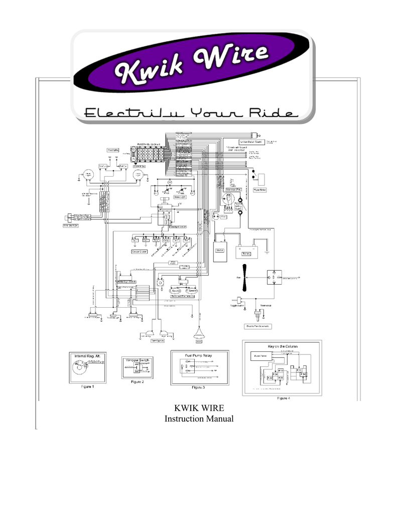 26287 Kwik Wire Diagram Color Code