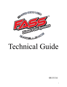 Technical Guide - Fass Fuel Systems