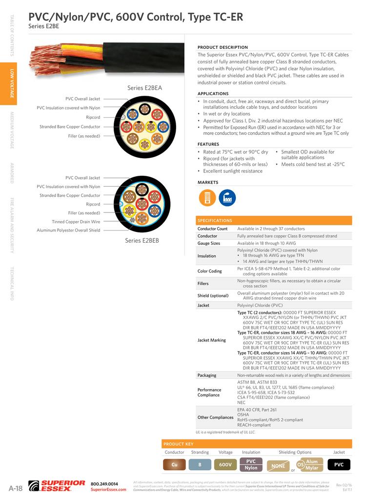 PDF PVC-Nylon-PVC-600V-serE2BE