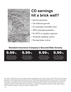 CD earnings hit a brick wall?