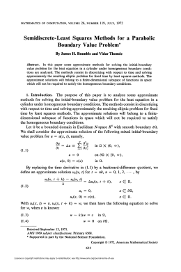 Boundary Value Problem - American Mathematical Society