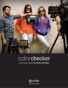 ColorChecker Targets for Photo and Video - X-Rite