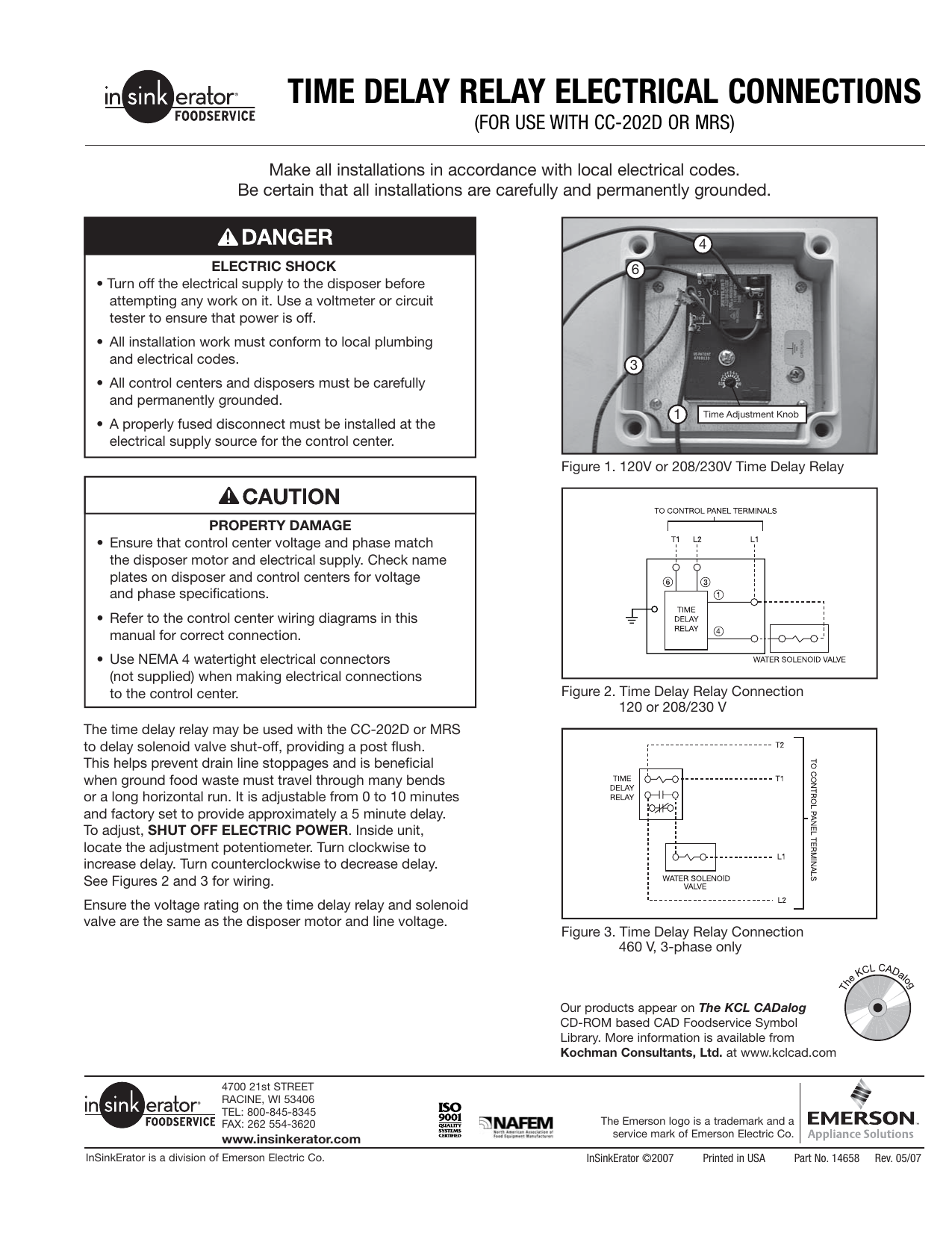 Time Delay Relay Electrical Connections 120 Volt Control Wiring Diagram