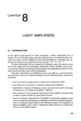 LIGHT AMPLIFIERS