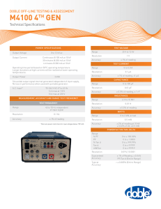 M4100 technical specifications