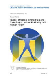 Impact of Ozone-initiated Terpene Chemistry on Indoor Air Quality