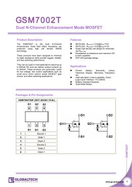 30V N-Channel Enhancement Mode MOSFET