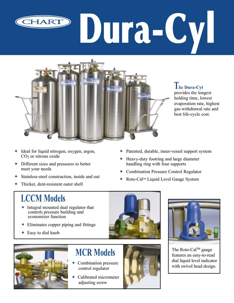 Cryogenic Liquid Storage Cylinders