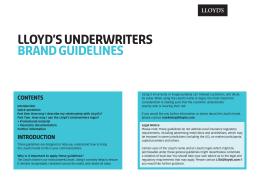 branding guidelines lloyds