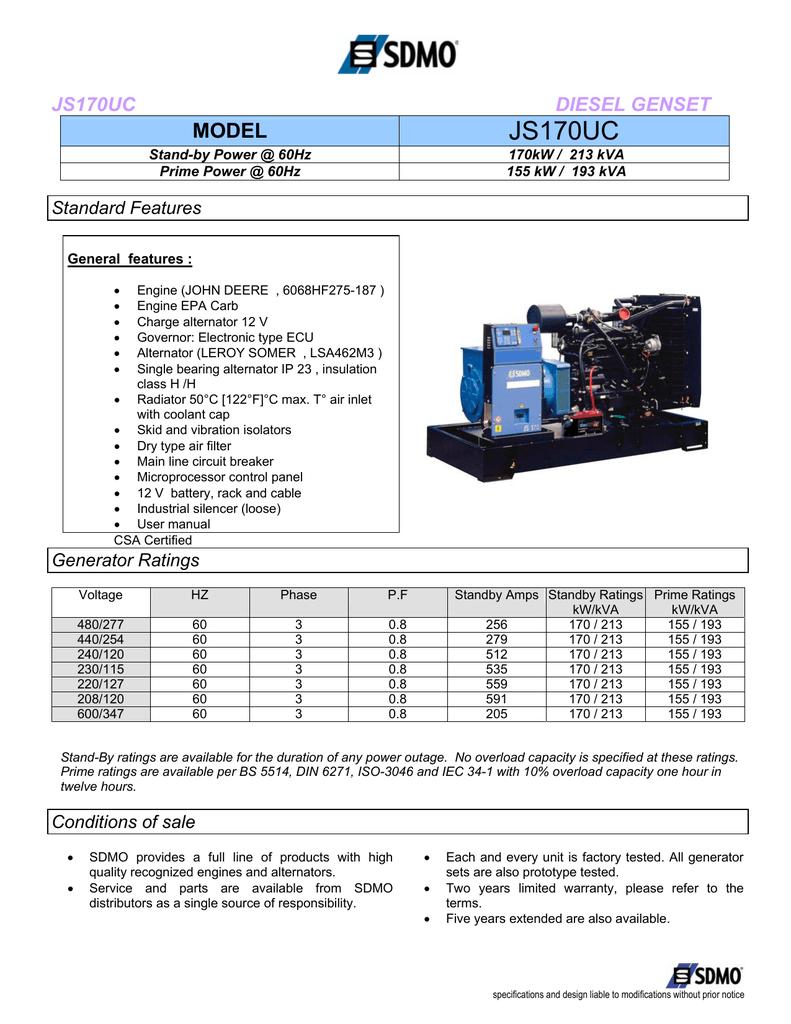70kW / 88kVA - Diesel Services