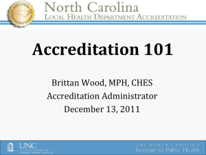 B. Wood Accreditation Pres 12.13.11