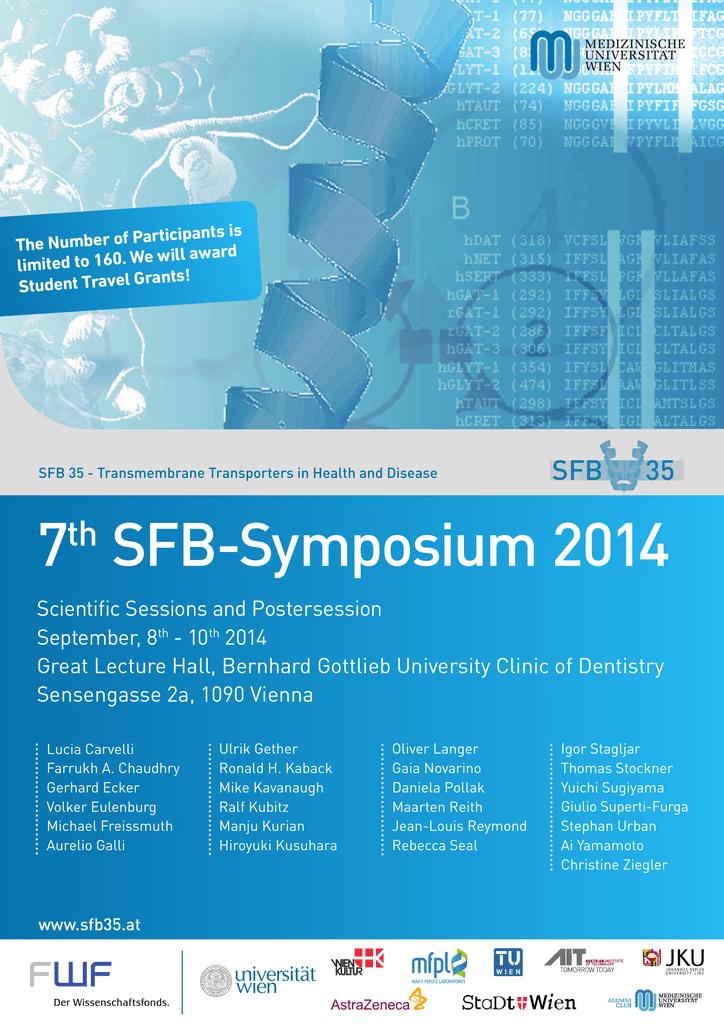 7th SFB35 Symposium 2014, Vienna