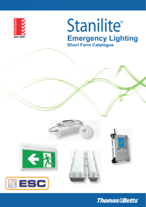 Emergency Lighting - Electrical Supply Corp