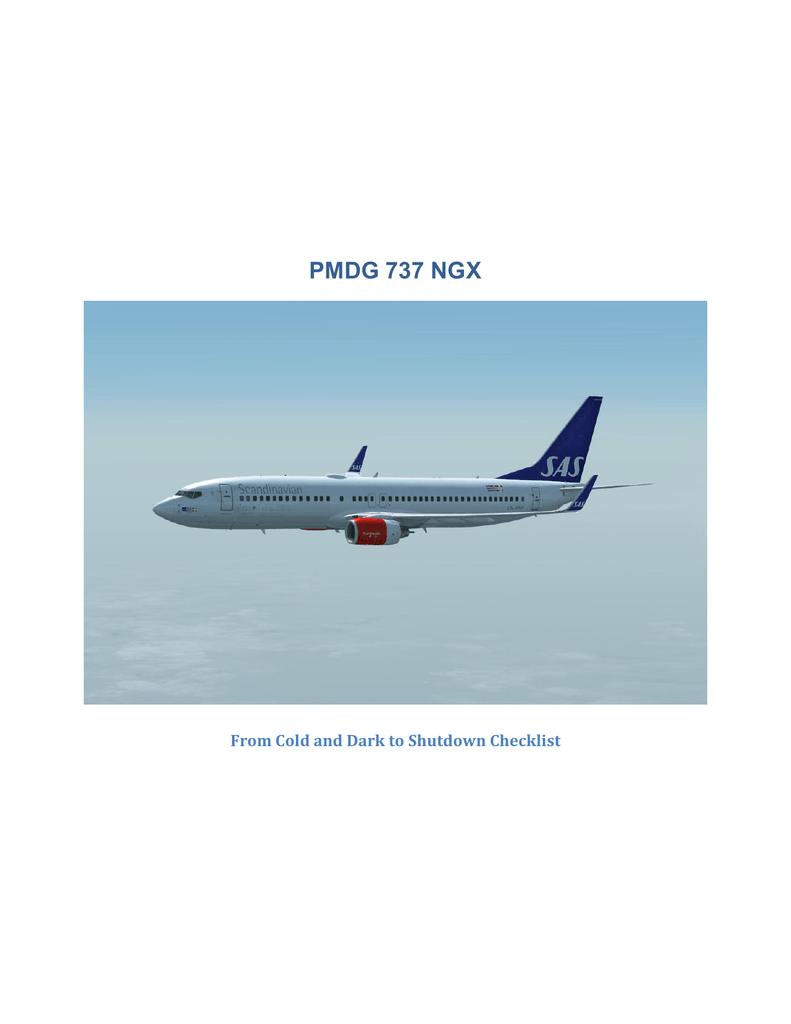 PMDG 737 NGX