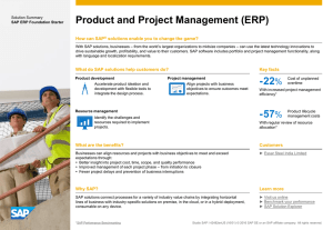 Product and Project Management