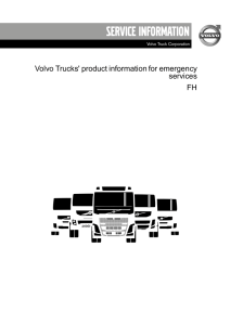 Product information Volvo FH, PDF 2,4 MB