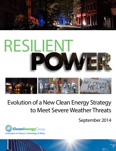 Resilient Power - The Kresge Foundation