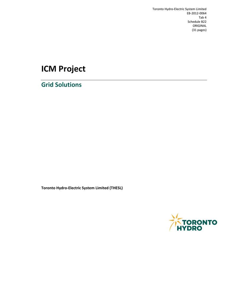 Payer Contravention Montréal >> Icm Project Grid Solutions