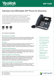 Yealink Dect Phone W52P Release Notes