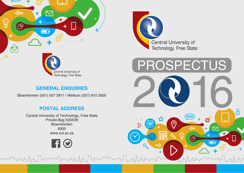 Prospectus 2016 - Central University of Technology