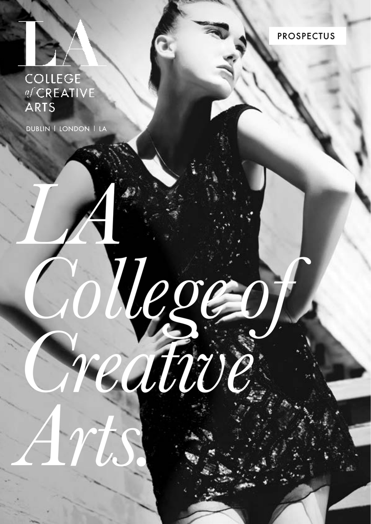 Prospectus La College Of Creative Arts