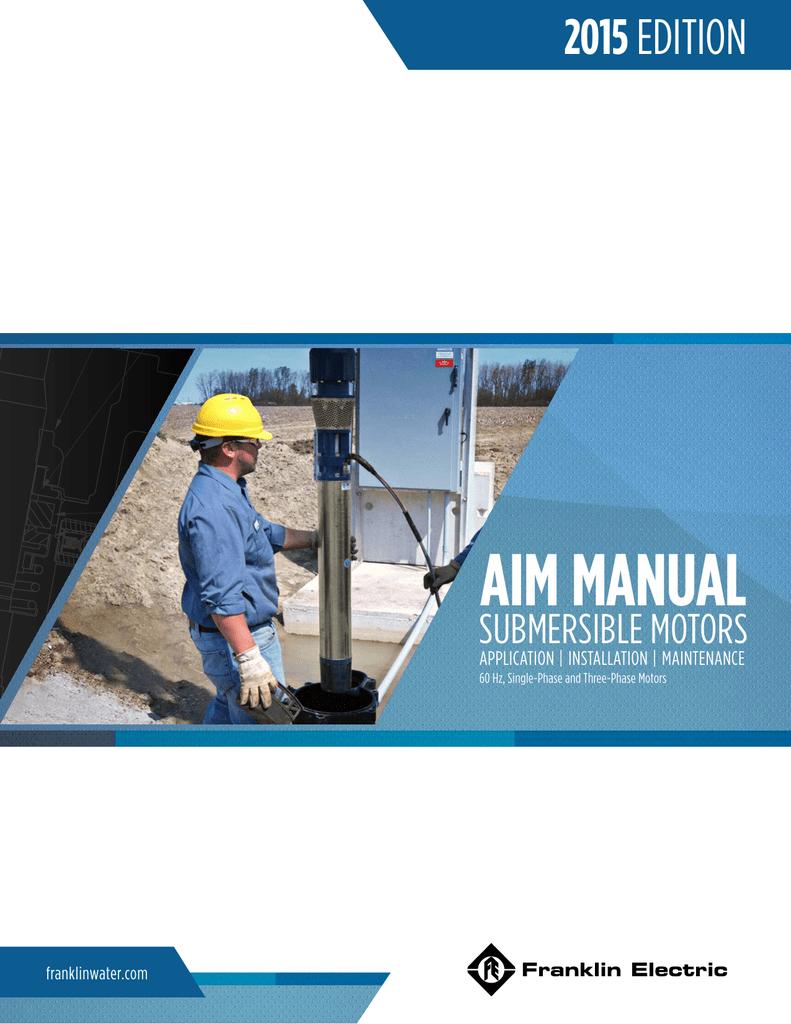 aim manual - Franklin Electric on