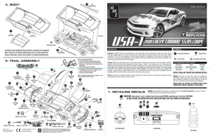 Assembly manual - Modele.sklep.pl
