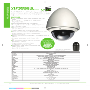vt-ptZ220hd - Security Camera Systems