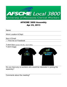 AFSCME 3800 Assembly Apr 23, 2013