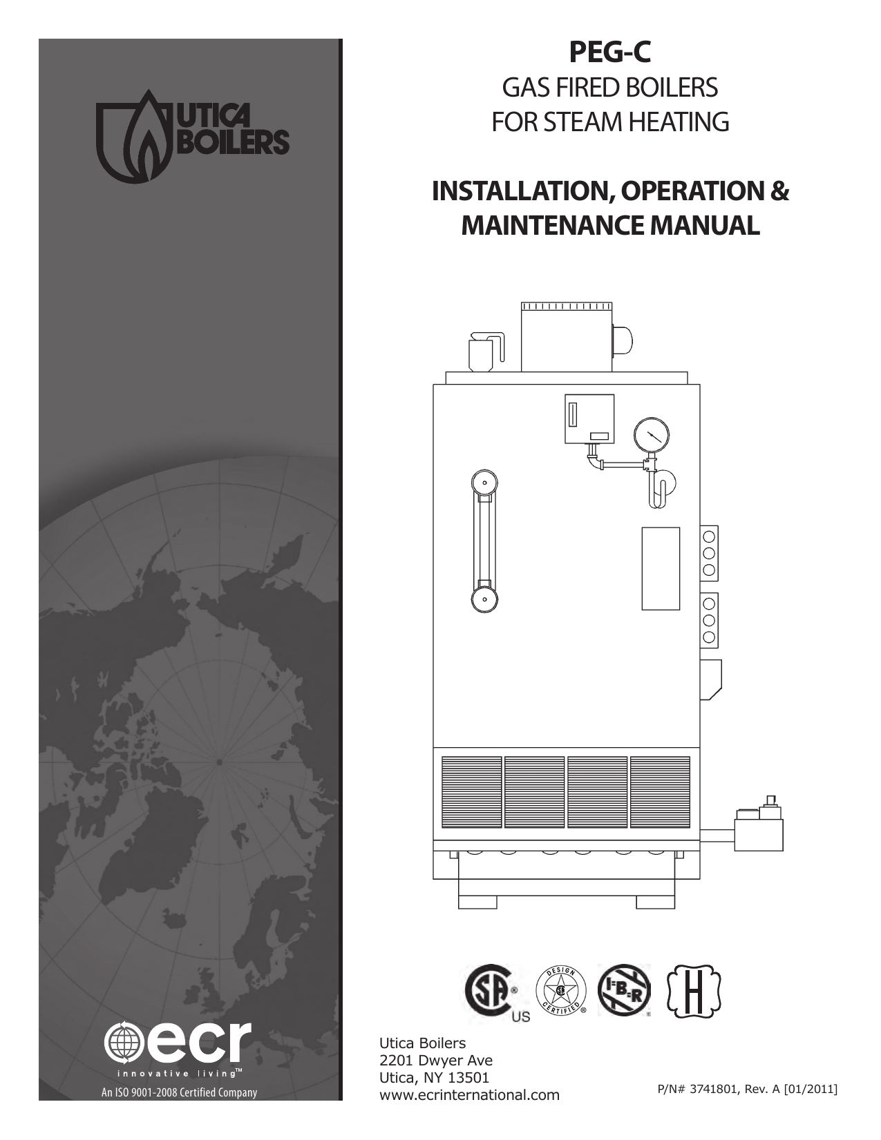 GAS FIRED BOILERS FOR STEAM HEATING INSTALLATION on utica boiler parts, utica boiler system, utica boiler installation, a.o. smith wiring diagram, utica boiler brochure, utica boiler controls,