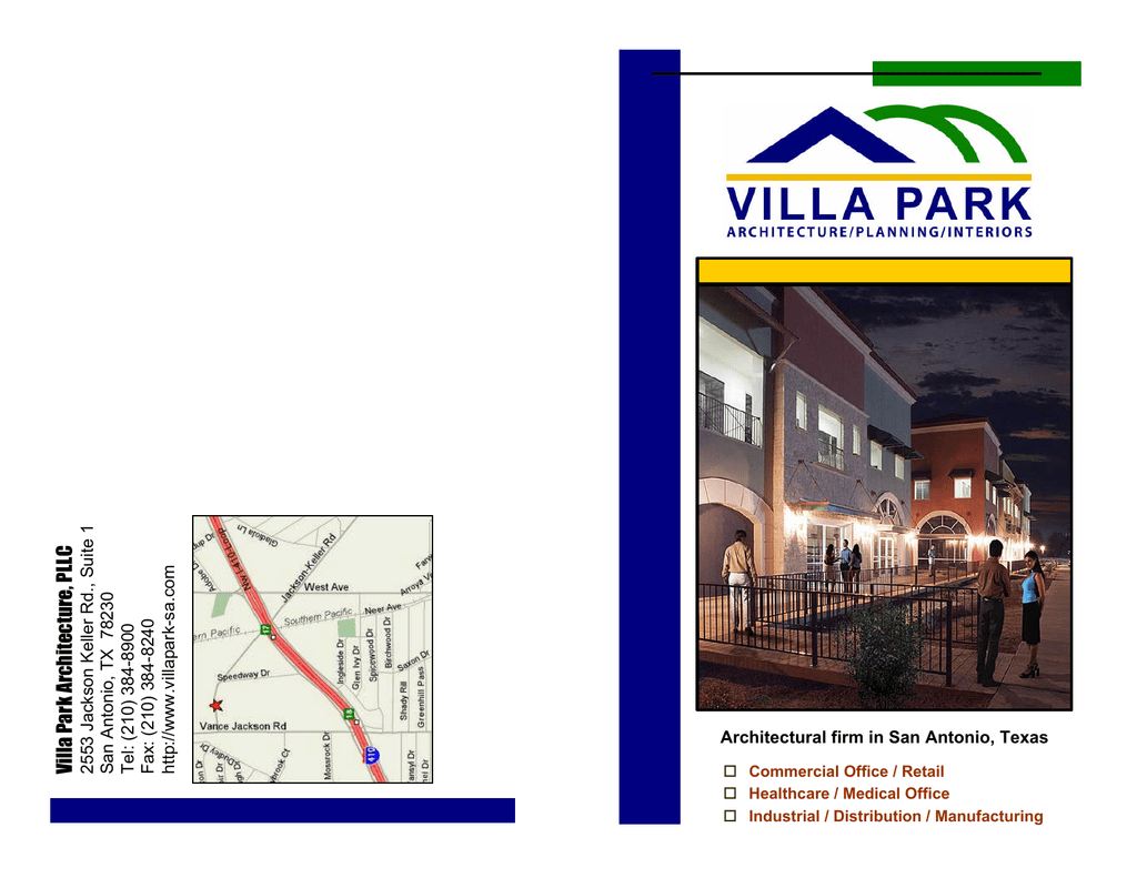 Architectural Firm In San Antonio Texas Villa Park Architecture