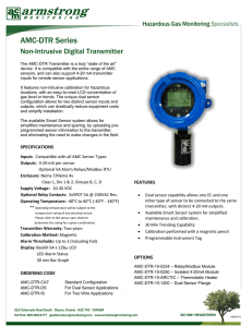 AMC-DTR Series - Armstrong Monitoring