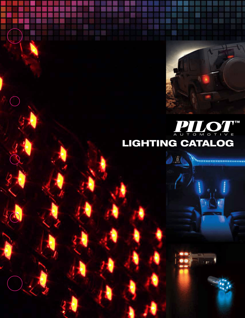 Pilot Automotive IL-1157A-15-AM 2 Piece Amber 15-SMD LED Turn//Tail Light Bulb