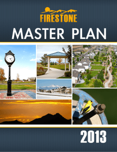 2013 Firestone Master Plan