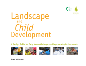 A Design Guide for Early Years–Kindergarten Play