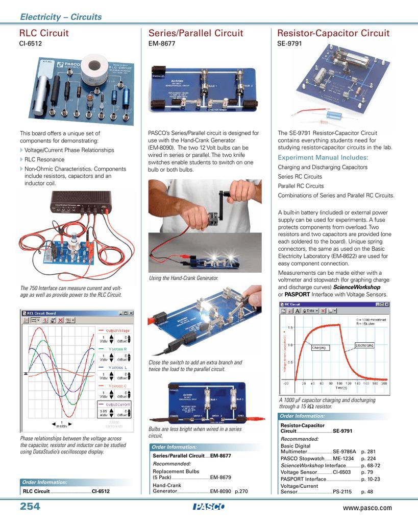 Series Parallel Circuit Rlc Resistor Resistors In Switches