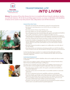 inTo Living - Penn-Mar Human Services