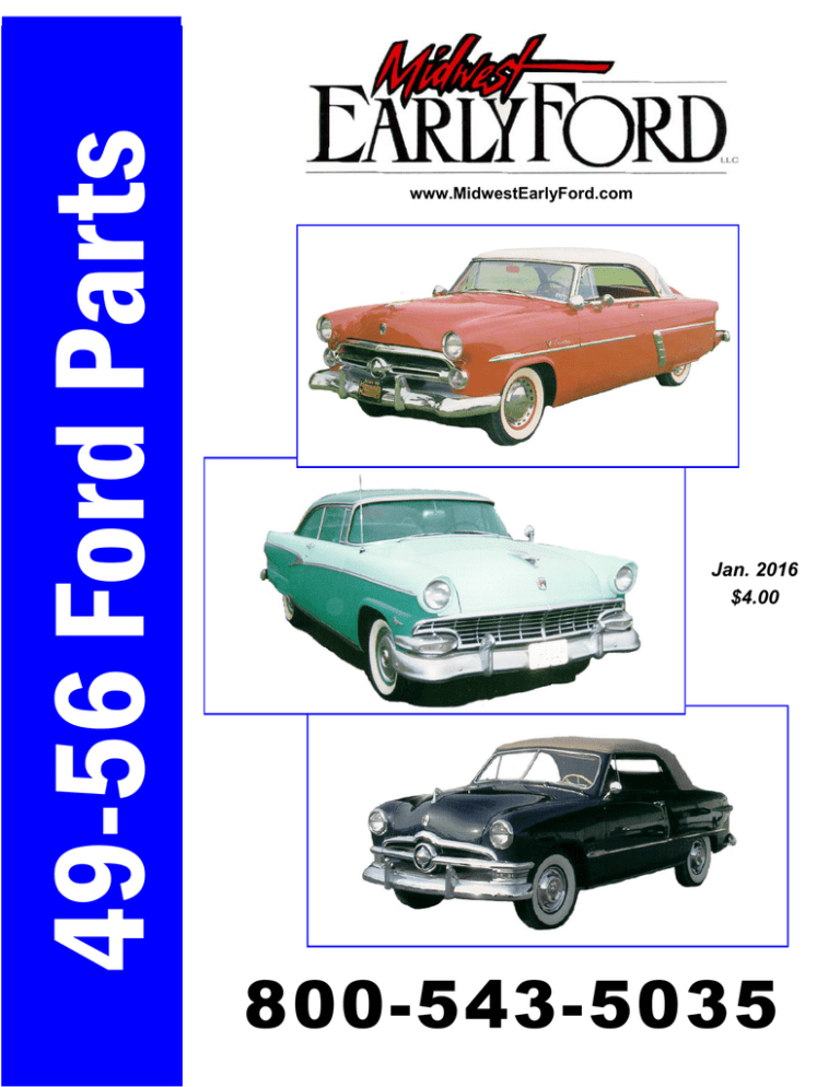 informafutbol.com 1956 Ford Car Body and Interior Assembly Manual ...