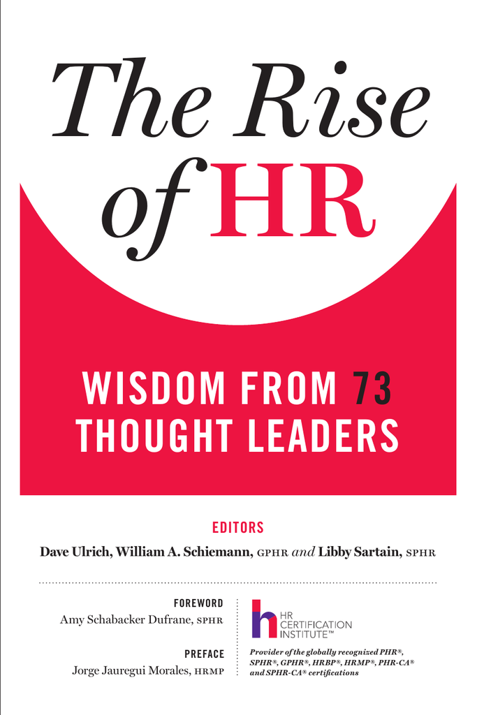 The Rise Of Hr Wisdom From 73 Thought Leaders