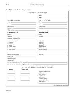 NFPA 72 FORM PDF DOWNLOAD