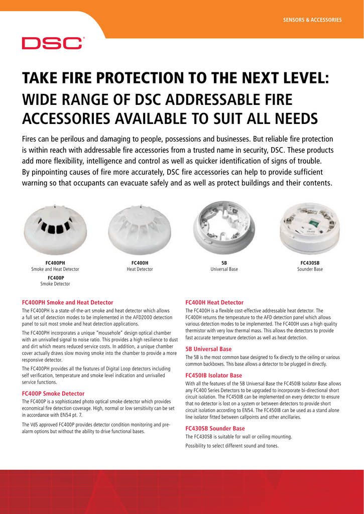 TAKE FIRE PROTECTION TO THE NEXT LEVEL: WiDe