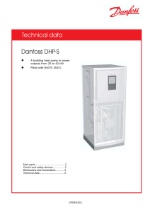 Technical data Danfoss DHP-S