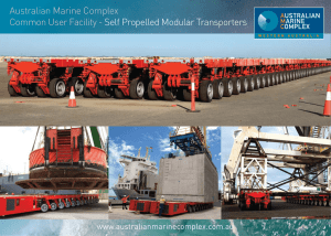 AMCCUF Self Propelled Modular Transporters Brochure